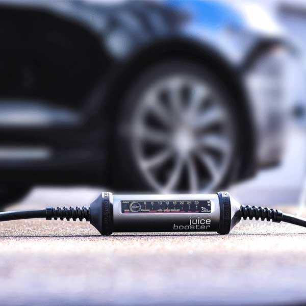 Juice Booster 2 Mobile Vehicle Charging