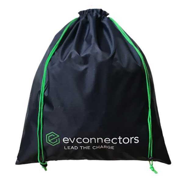 FREE EV Navy Drawstring Bag